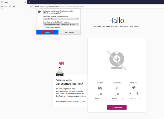 Preview Seite DE - Firefox